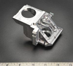 CNC aluminum part